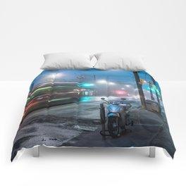 Winter Fog #1 Comforters
