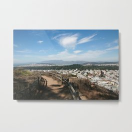 Something New: San Francisco Metal Print