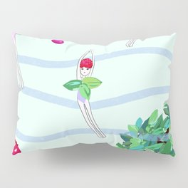 berry diver, summer, fun Pillow Sham