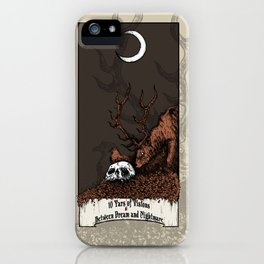 10 Yars of Visions  Between Dream and Nightmare iPhone Case