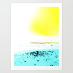 The World is your Sandbox Art Print