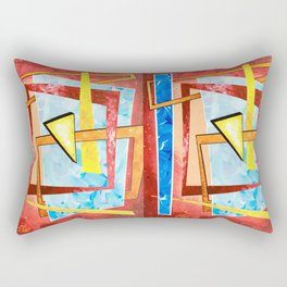 Spontaneous Geometric 1 Rectangular Pillow