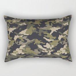 CUSTOM ARMY CAMO 10 Rectangular Pillow