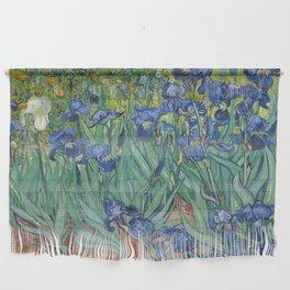 Irises by Vincent van Gogh Wall Hanging