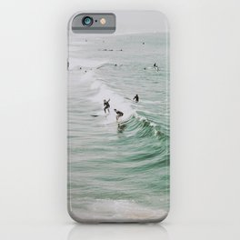 lets surf iv / venice beach, california iPhone Case