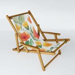 Spring Wildflowers Sling Chair