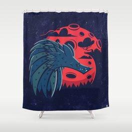Mr. Wolf Shower Curtain