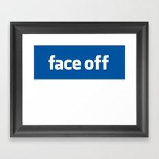 2010 - Face Off Framed Art Print