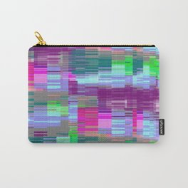 Pastel Glitch Carry-All Pouch