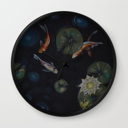 Kio fish Wall Clock