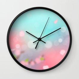 Sunset Spring Wall Clock