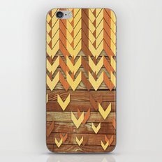 ZigZag Woody iPhone & iPod Skin