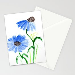Watercolor Coneflowers Stationery Cards