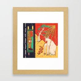 Mizpe Ramon Framed Art Print