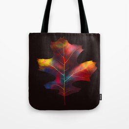 Rainbow Leaf Tote Bag