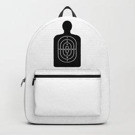 Human Shape Target Backpack