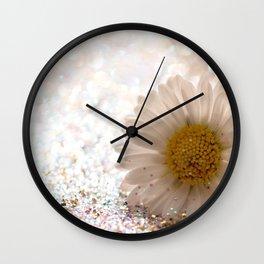 DAISY GOLD - for Mackenzie Wall Clock