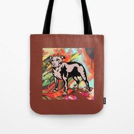Super dog pop art Tote Bag