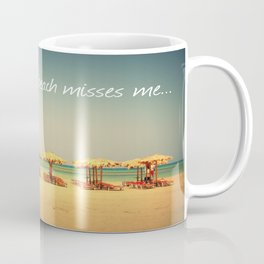 Beach Therapy Coffee Mug
