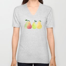 Fresh Pears Unisex V-Neck