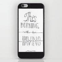 johnny cash iPhone & iPod Skins featuring Johnny Cash by Kami Sparks