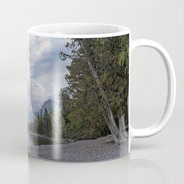 Tranquility at Lake McDonald Coffee Mug