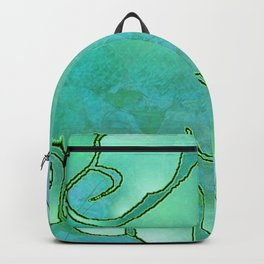 Cargiver Hands Blue and Green Harmony Backpack