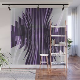 Avantgarde purple Wall Mural