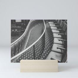 The Gallery Seats Mini Art Print