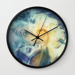 Introspective vision Wall Clock