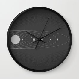 Miniverse Wall Clock
