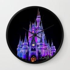 Walt Disney World Christmas Lights Wall Clock