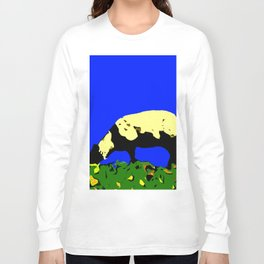 Bookends - Two Sheep - Cuckmere Haven, Sussex, UK Long Sleeve T-shirt