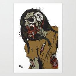 Spit Art Print