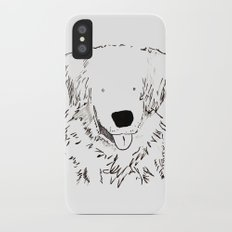 dog iPhone X Slim Case