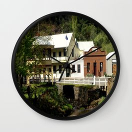 Stringer's Creek - Walhalla - Australia Wall Clock