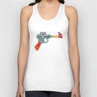 gun Tank Tops featuring Gun Toy by Florent Bodart / Speakerine