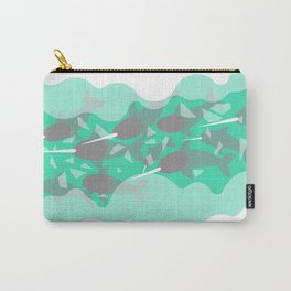 Narwhal - Winter Arctic Carry-All Pouch
