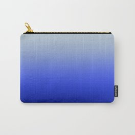Blue Morning Glory Ombre Carry-All Pouch