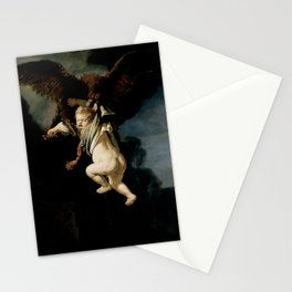 Rembrandt - The Abduction of Ganymede (1635) Stationery Cards