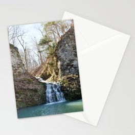 Alone in Secret Hollow with the Caves, Cascades, and Critters, No. 1 of 21 Stationery Cards