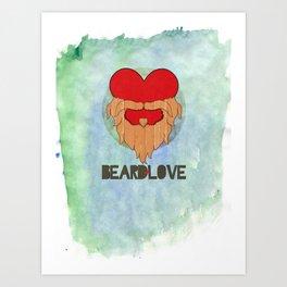 Beard Love Art Print