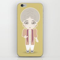 golden girls iPhone & iPod Skins featuring Girls in their Golden Years - Dorothy by Ricky Kwong