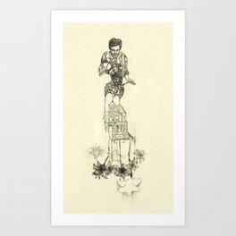 Making a Home Art Print