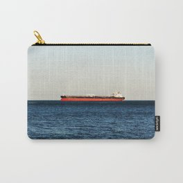 Cargo Ship Seascape Carry-All Pouch