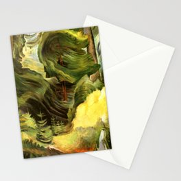 Emily Carr - Swirl - Canada, Canadian Oil Painting - Group of Seven Stationery Cards