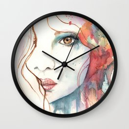 Girl ASD 01 Wall Clock