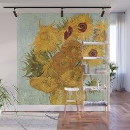Van Gogh - sunflowers Wall Mural