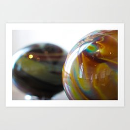 Roll in colours Art Print