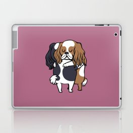 Cavalier King Charles Spaniel hugs Laptop & iPad Skin